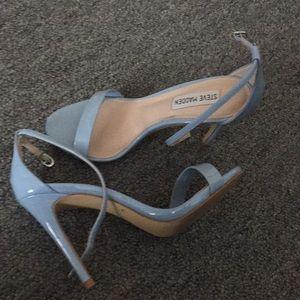 Light blue Steve Madden strap heels